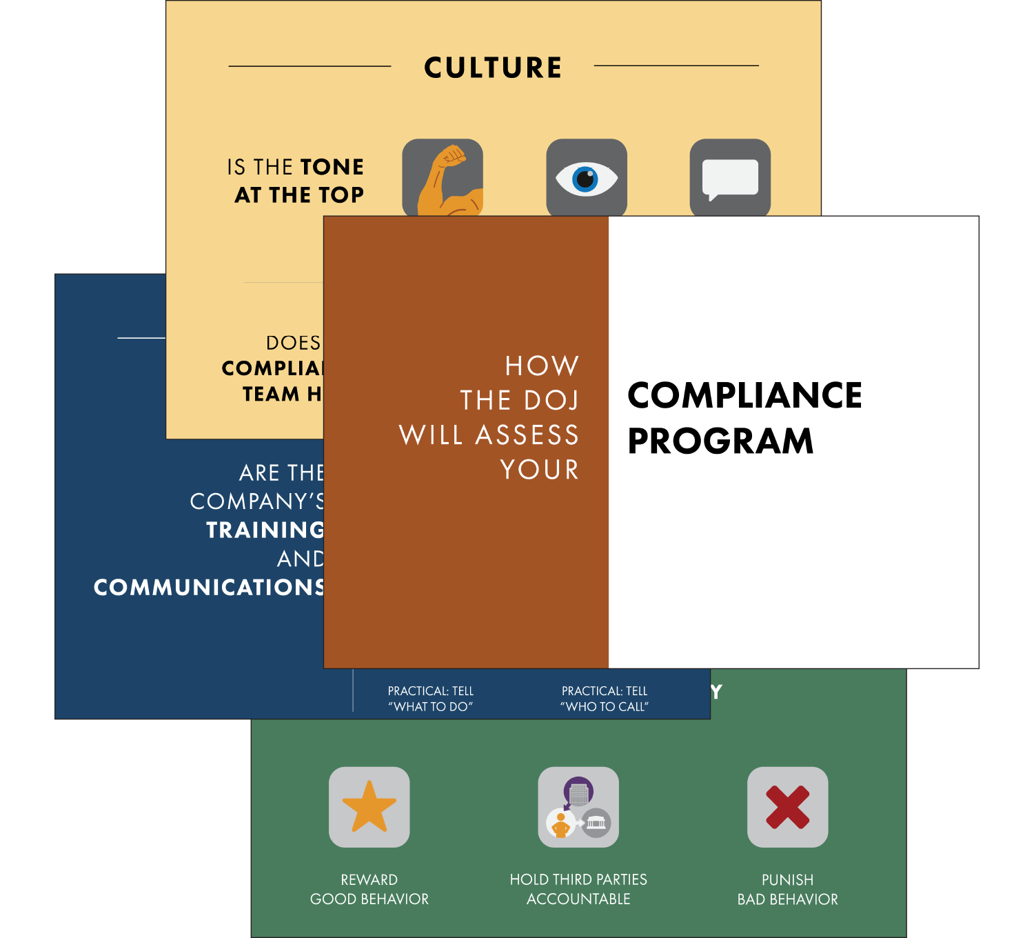 Preview of compliance metrics from the DOJ, as visualized by Broadcat. Download it now, for free!