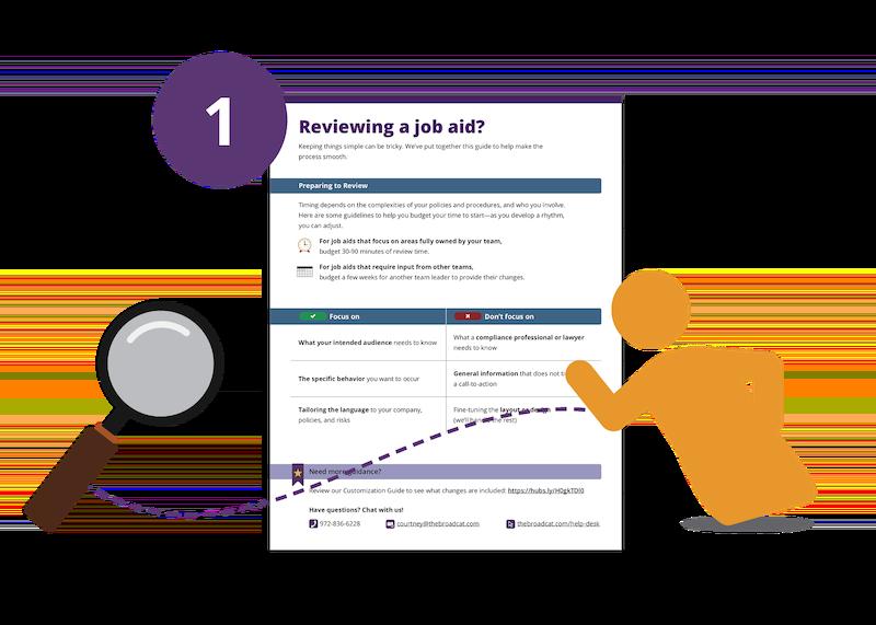 01 - Reviewing a Job Aid