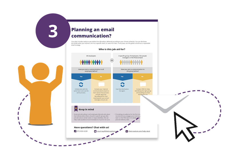 03 - Planning email communication