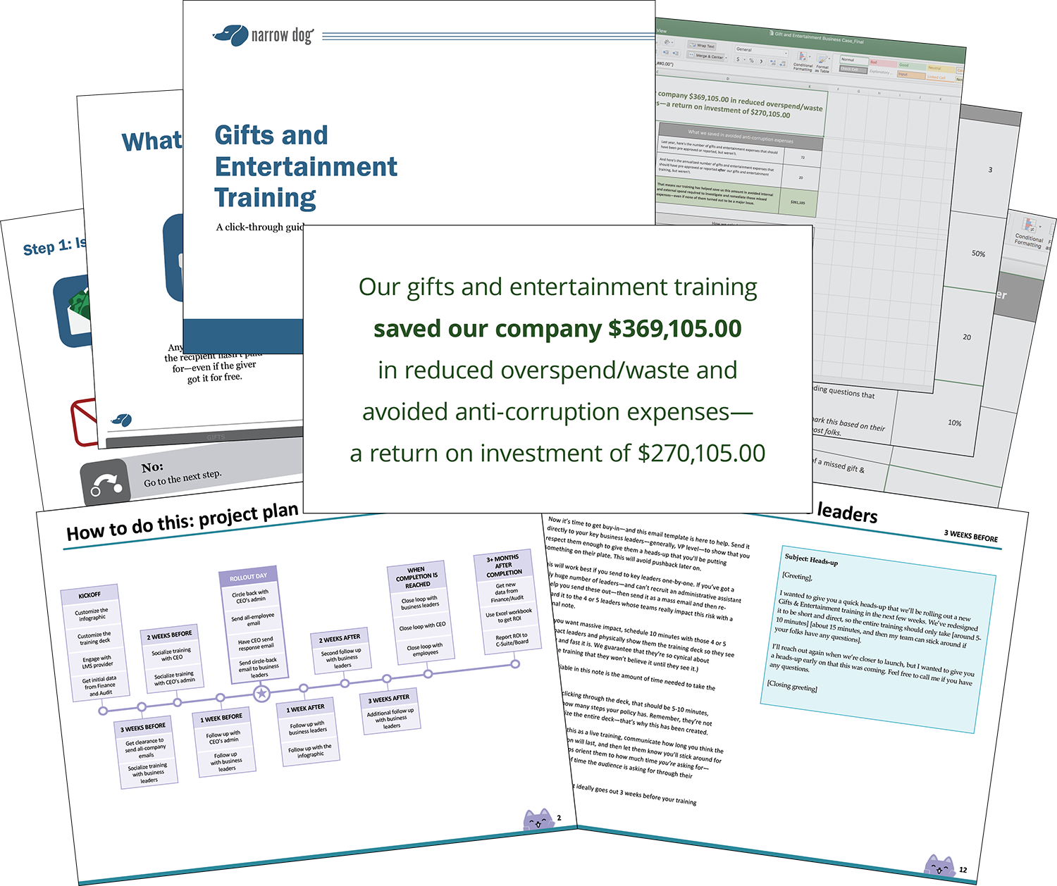 Preview of Broadcat's simple, interactive training on gifts and entertainment.