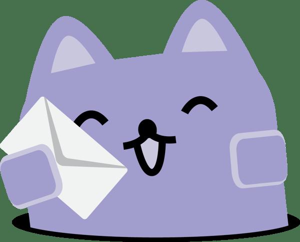 Broadcat holding envelope